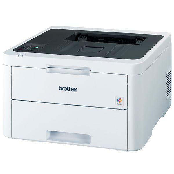 ブラザー工業 A4カラーレーザープリンター/24PPM/両面印刷/有線・無線LAN