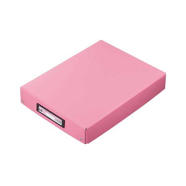 【送料無料】(まとめ) TANOSEE デスクトレー A4ワイド ピンク 1個 【×30セット】