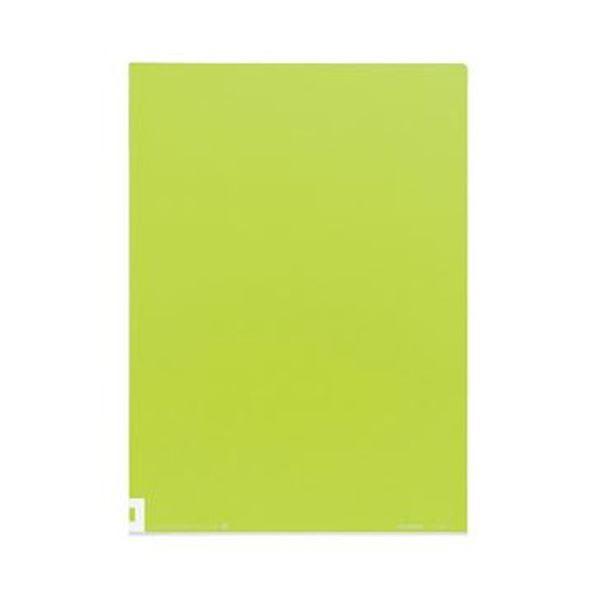 【送料無料】(まとめ)コクヨ クリヤーホルダー(カラーズ)A4 イエローグリーン フ-C750-1 1セット(5枚)【×20セット】