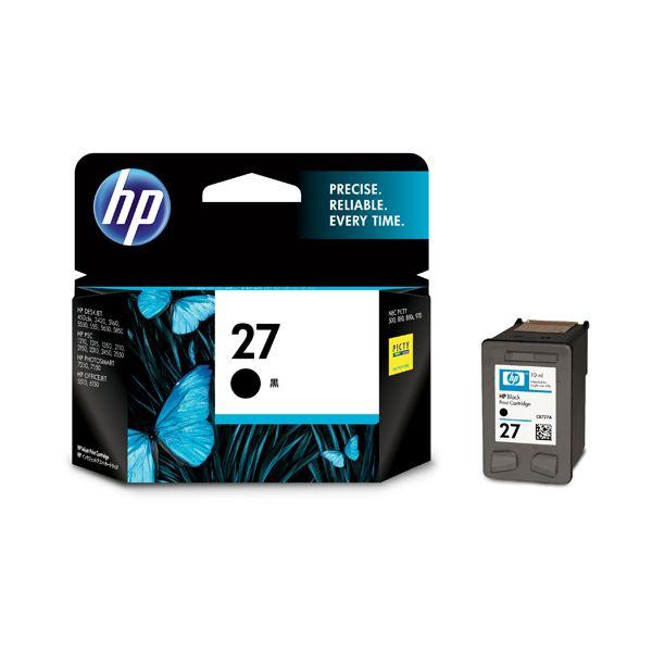 (まとめ) HP27 プリントカートリッジ 黒 C8727AA#003 1個 【×10セット】