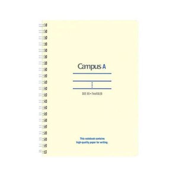 【送料無料】(まとめ)コクヨ キャンパスツインリングノート(ミニサイズ)B6 A罫 50枚 青 ス-T140A-B 1セット(10冊)【×5セット】