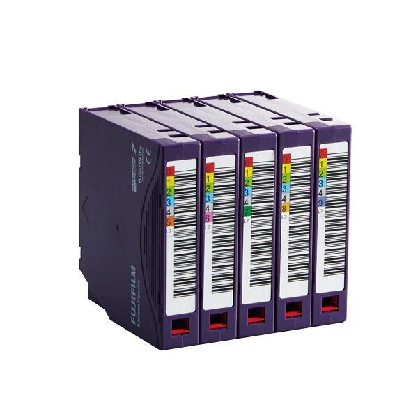 【送料無料】富士フイルム LTO Ultrium7データカートリッジ バーコードラベル(縦型)付 6.0TB LTO FB UL-7 OREDPX5T1パック(5巻)