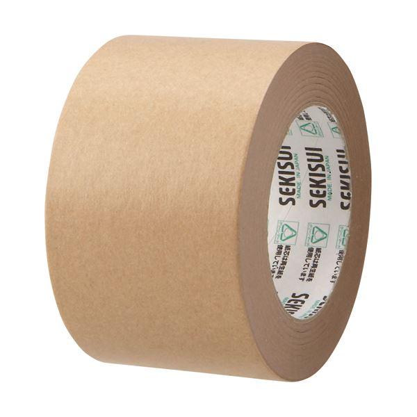 【送料無料】(まとめ) 積水化学 クラフトテープ 75mm×50m K51X15 1巻 【×30セット】