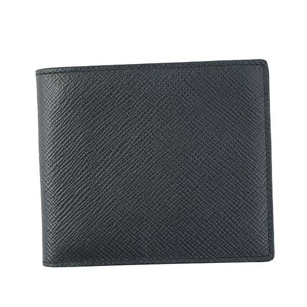 【送料無料】SMYTHSON(スマイソン)2つ折小銭付き財布 1011727 NAVY
