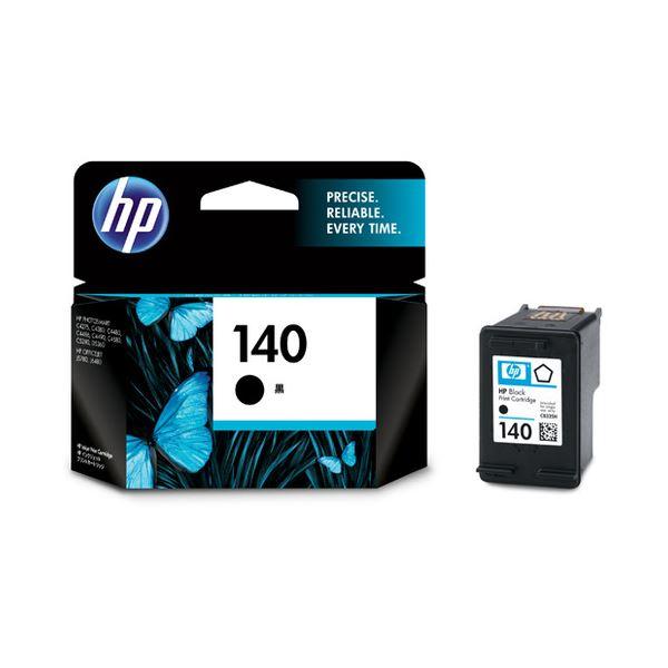 (まとめ) HP140 プリントカートリッジ 黒 CB335HJ 1個 【×10セット】