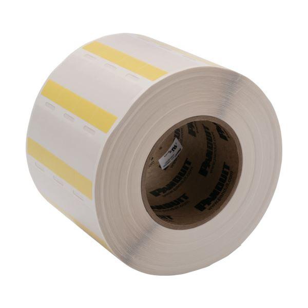 【送料無料】パンドウイット熱転写プリンタ用セルフラミネートラベル 黄 S100X150VITY 1巻(5000枚)