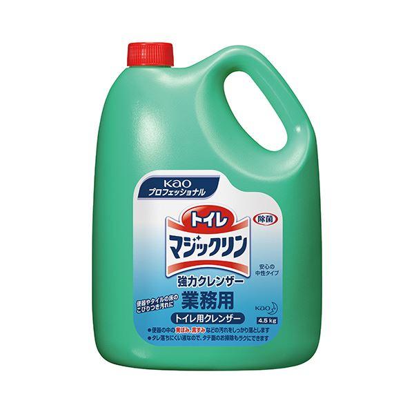 (まとめ) 花王 トイレマジックリン 強力クレンザー 業務用 4.5kg 1本 【×10セット】