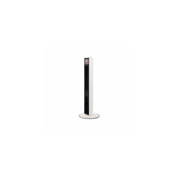 【送料無料】コイズミ 送風機能付ファンヒーター ホワイト KHF-1297W