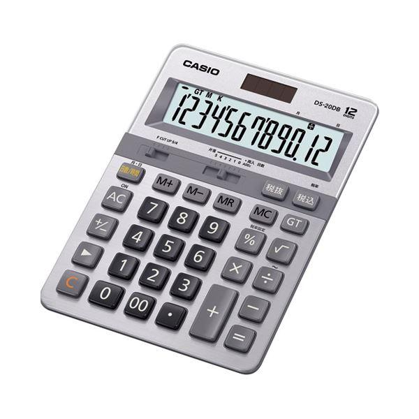 【送料無料】(まとめ)カシオ計算機 本格実務電卓 DS-20DB-N【×5セット】