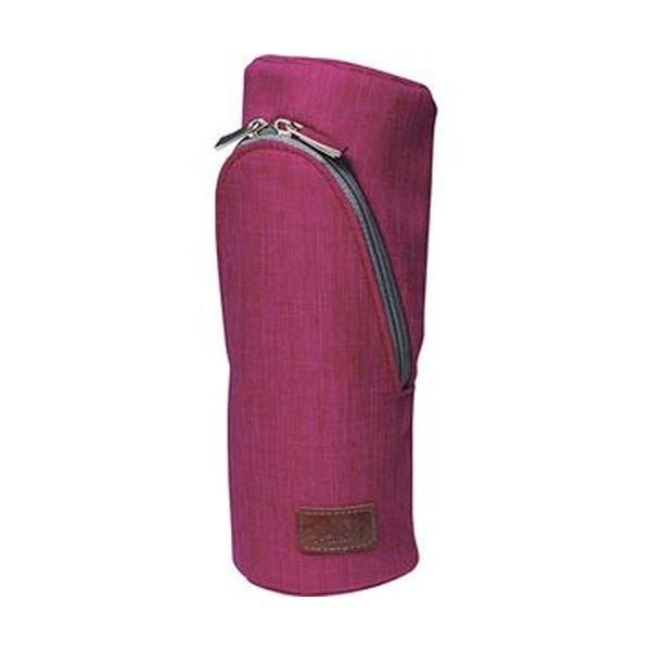 【送料無料】(まとめ)ソニック スマ・スタ カーム立つペンケース ピンク FD-1607-P 1個【×10セット】