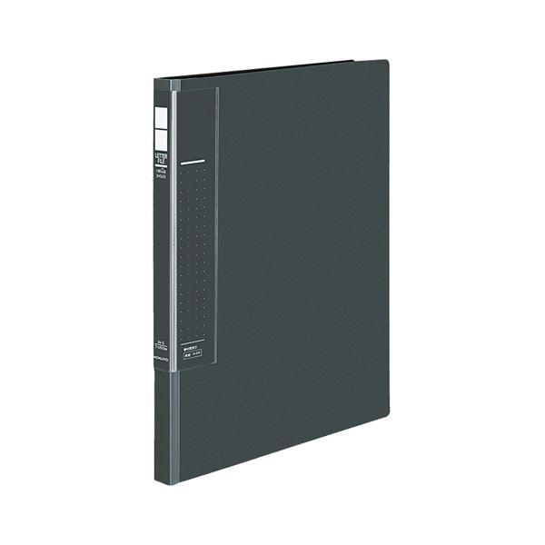 【送料無料】(まとめ) コクヨ レターファイル(ラクアップ) A4タテ 120~250枚収容 背幅23~36mm ダークグレー フ-U510DM 1冊 【×30セット】