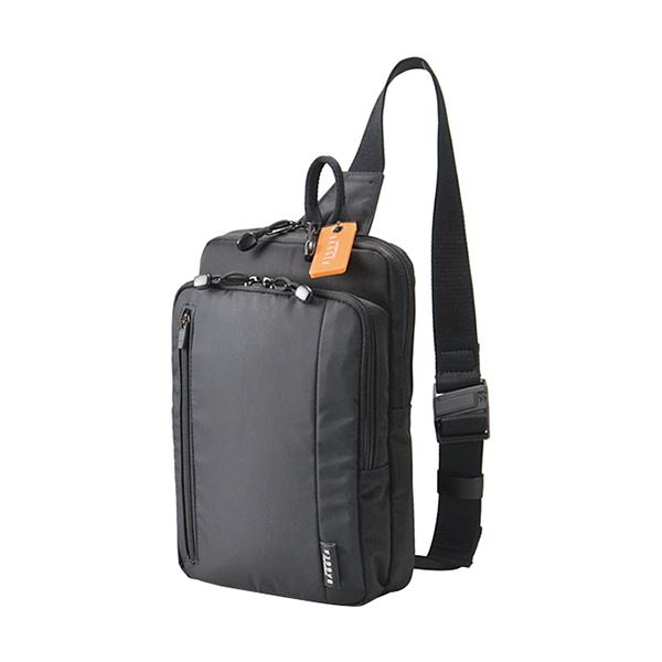【送料無料】ウノフク BAGGEX D3Oワンショルダーバッグ ブラック 13-1083-10 1個
