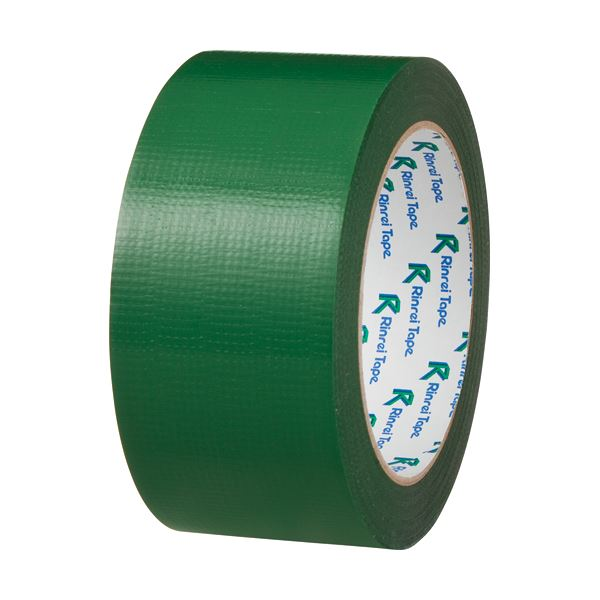 【送料無料】(まとめ) リンレイ PEワリフカラーテープ 50mm×25m 緑 674ミドリ 1巻 【×30セット】