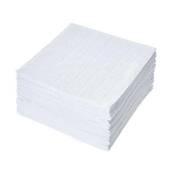 【送料無料】(まとめ)TANOSEE 薄手 おしぼりタオル 1パック(50枚)【×5セット】