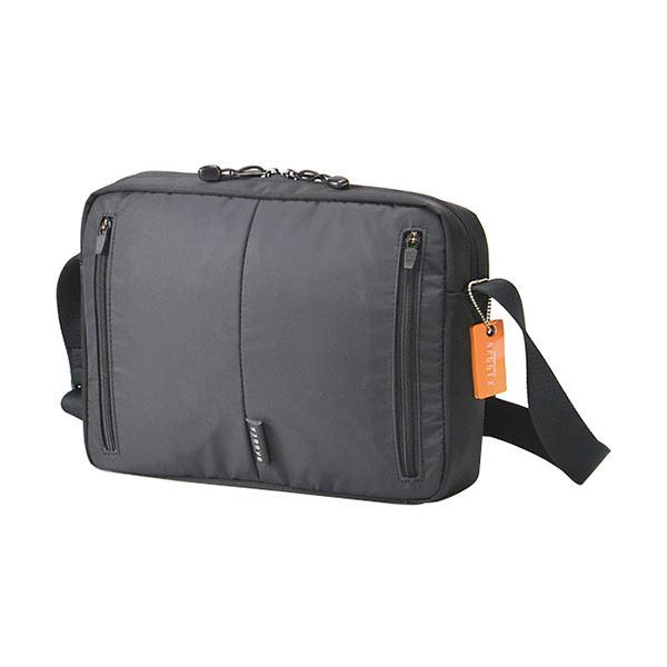 【送料無料】ウノフク BAGGEX D3Oショルダーバッグ横型 ブラック 13-1082-10 1個