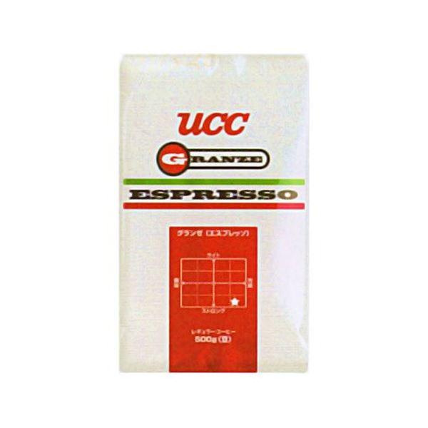 【送料無料】UCC上島珈琲 UCCグランゼエスプレッソ(豆)AP500g 12袋入り UCC301206000
