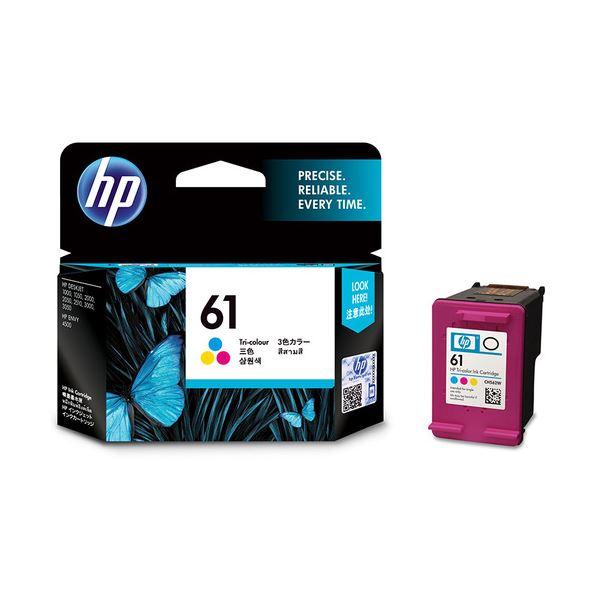 【送料無料】(まとめ) HP HP61 インクカートリッジカラー CH562WA 1個 【×10セット】