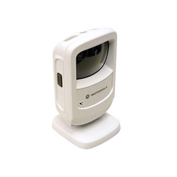 【送料無料】モトローラ2次元定置式バーコードリーダー ホワイト DS9208-USBR 1台