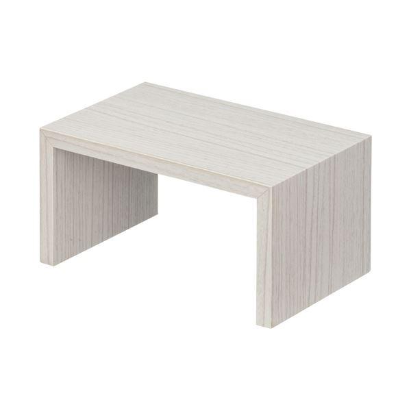 【送料無料】(まとめ) 店研創意 ストア・エキスプレス木製コの字ディスプレイ ホワイトウッド S 1個 【×10セット】