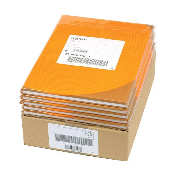 【送料無料】東洋印刷 ナナ 医療機関向け再剥離ラベルA4 14面 83×36mm 四辺余白付 RIG210FH 1箱(500シート:100シート×5冊)