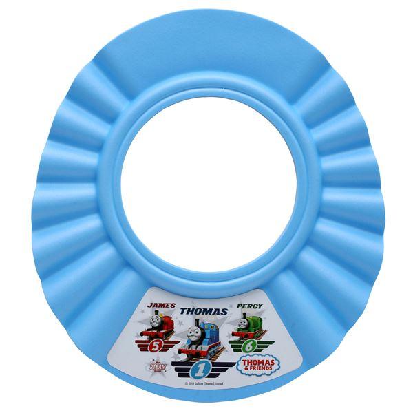 【送料無料】(まとめ) トーマス シャンプーハット3D/バス用品 【ブルー】 子供用 カット可 頭囲48~52cmくらい対応 【×80個セット】