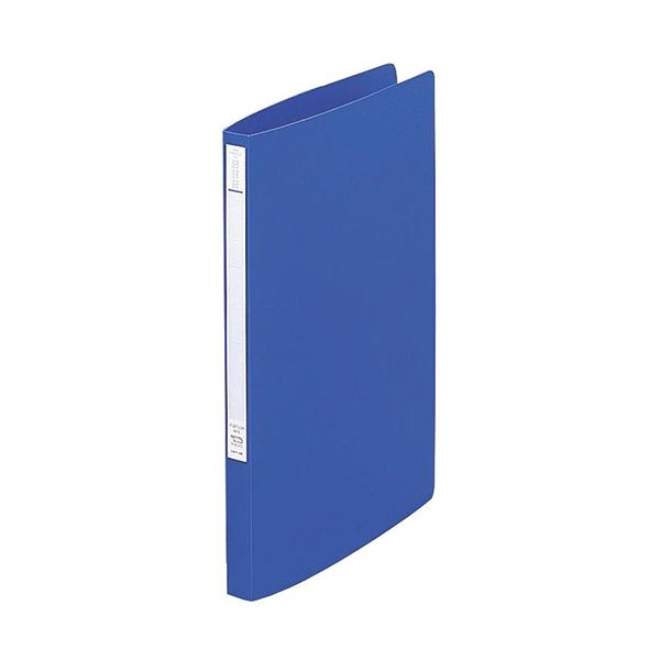【送料無料】(まとめ) リヒトラブ Avantiスーパーパンチレスファイル A4タテ 120枚収容 背幅20mm 青 F-347U-8 1冊 【×30セット】