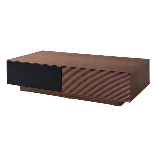 【送料無料】120センターテーブル ウォールナット W120×D60×H30cm