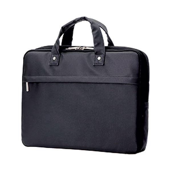 【送料無料】(まとめ)エレコム ビジネス薄型バッグBM-CB02BK ブラック【×5セット】