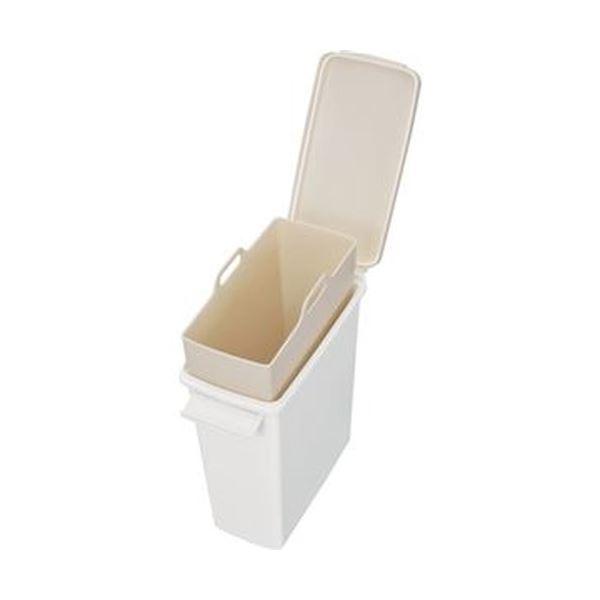 【送料無料】(まとめ)新輝合成 セパ パッキン付ペール12型ホワイト 00857 1個【×5セット】