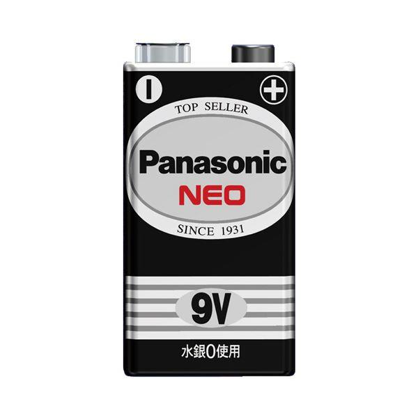 【送料無料】(まとめ) パナソニック マンガン乾電池 ネオ 黒9V形 6F22NB/1S 1本 【×50セット】