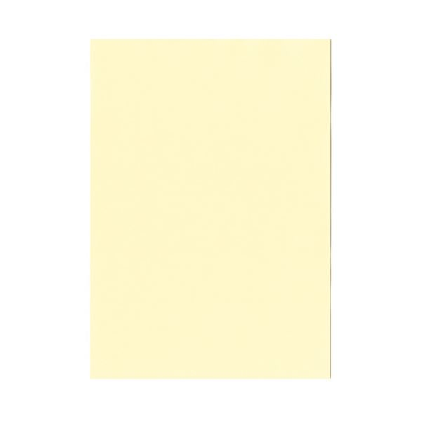 【送料無料】(まとめ)北越コーポレーション 紀州の色上質A4T目 薄口 レモン 1箱(4000枚:500枚×8冊)【×3セット】