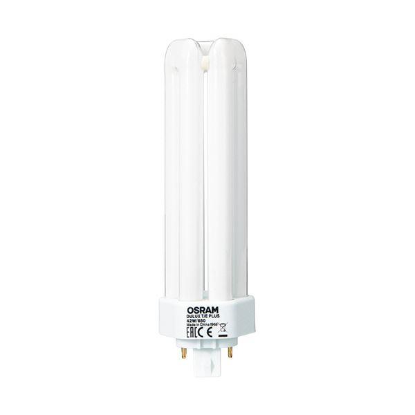 ダウンライトや照明器具に使う小型の蛍光灯 送料無料 まとめ お得セット オスラム コンパクト形蛍光ランプ 42W形 昼白色 DULUX T PLUS E ×5セット 850 1個 42W セール特価