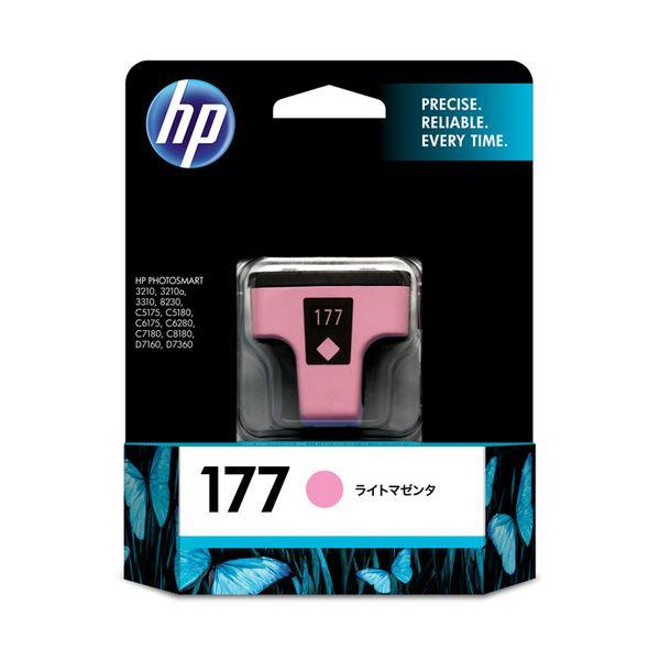 【送料無料】(まとめ) HP177 インクカートリッジ ライトマゼンタ C8775HJ 1個 【×10セット】