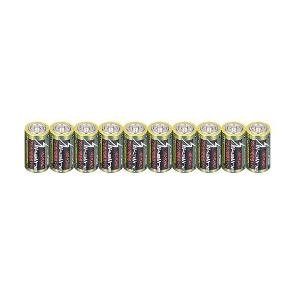 【送料無料】メモレックス・テレックス アルカリ乾電池単1形 LR20/1.5V/10S 1セット(100本:10本×10パック)