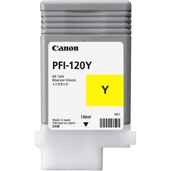 ブランド買うならブランドオフ 送料無料 まとめ 純正品 CANON 2888C001 インクタンク イエロー ×5セット PFI-120Y 信託