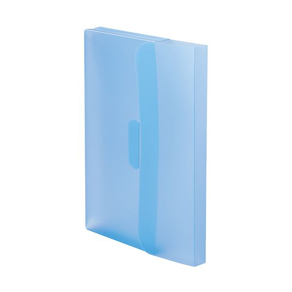 【送料無料】(まとめ)TANOSEE PP製ケースファイルA4 背幅23mm ブルー 1パック(3冊) 【×20セット】