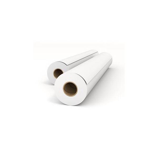 【送料無料】(まとめ)オセ エコノミー普通紙 24インチロール610mm×50m IPS650B 1箱(2本)【×3セット】