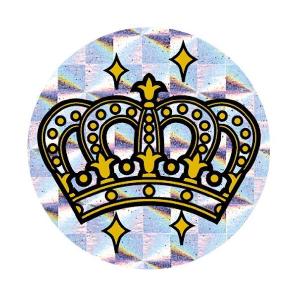 【送料無料】(まとめ)パリオシール PS1435 王冠ホログラム【×30セット】