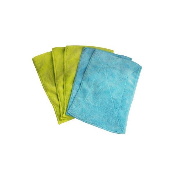 【送料無料】(まとめ)雑巾 激落ち マイクロぞうきん 5枚入 S592 【40個セット】