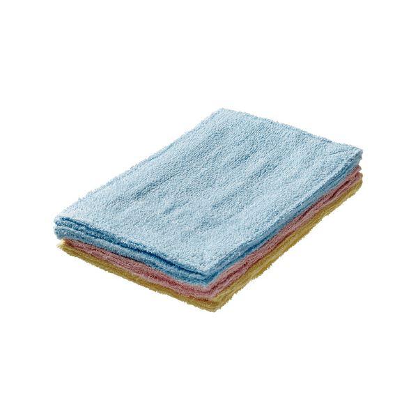 【送料無料】(まとめ)オーミケンシ カラー雑巾 10枚セット【×30セット】