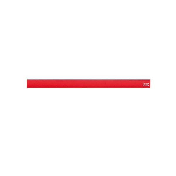 【送料無料】(まとめ) ライオン事務器 マグネットバー長さ220×幅15×厚さ8.5mm レッド No.200P 1本 【×30セット】