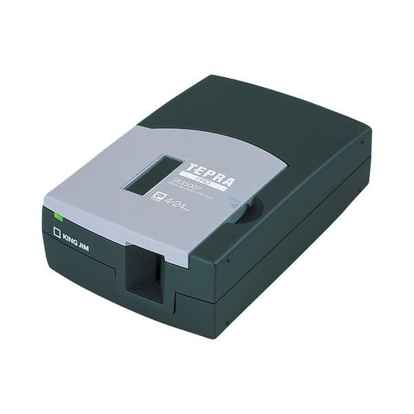 【送料無料】(まとめ)キングジム テプラ PRO PC接続専用ブラック SR3500P 1台【×3セット】