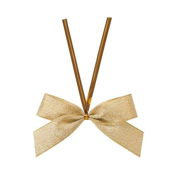 【送料無料】(まとめ) ヘッズ シャインリボンワイヤータイゴールド 中 GOL-YT1 1パック(50個) 【×10セット】