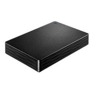 【送料無料】IOデータ 外付けHDD カクうす Lite ブラック ポータブル型 3TB HDPH-UT3DKR