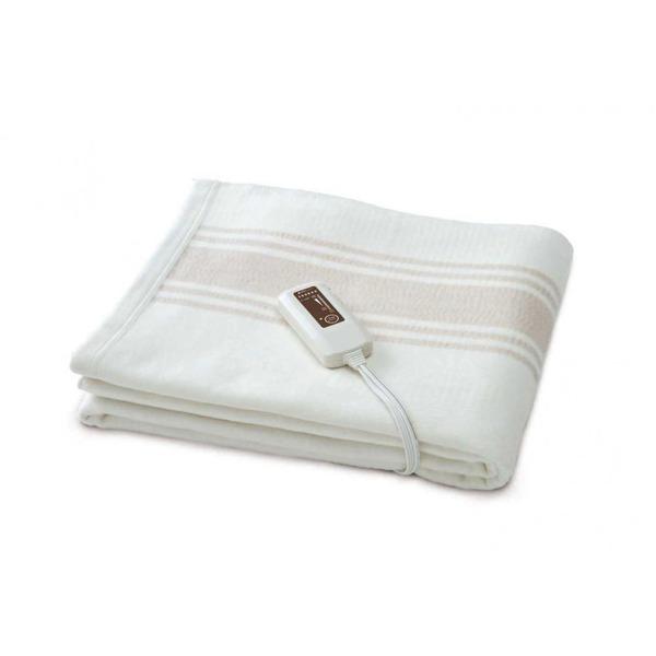 【送料無料】電気掛敷オーガニックコットン毛布