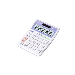 【送料無料】(まとめ) カシオ 抗菌電卓 ミニジャストタイプ10桁 MW-102CL-N 1台 【×10セット】