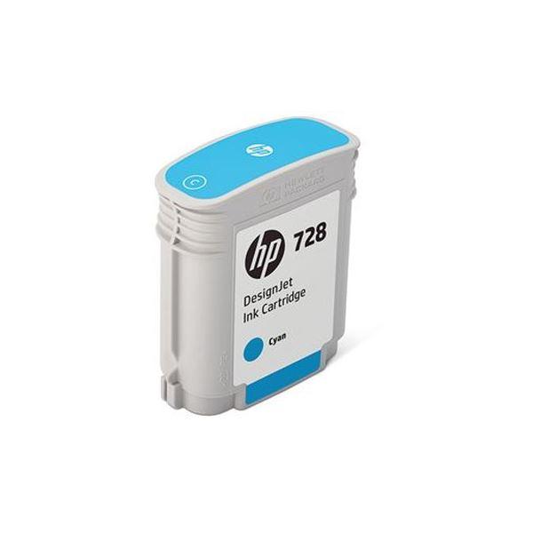 【送料無料】(まとめ)HP HP728 インクカートリッジシアン 40ml F9J63A 1個【×3セット】