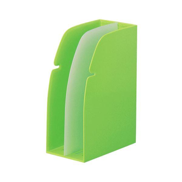 (まとめ)リヒトラブ REQUESTホルダースタンド 黄緑 G1630-6 1セット(16個)【×3セット】