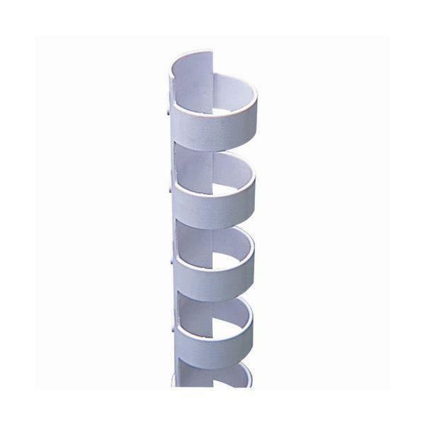 【送料無料】(まとめ) カール事務器 コームリング 直径13mm ホワイト TC-13W 1パック(10本) 【×30セット】