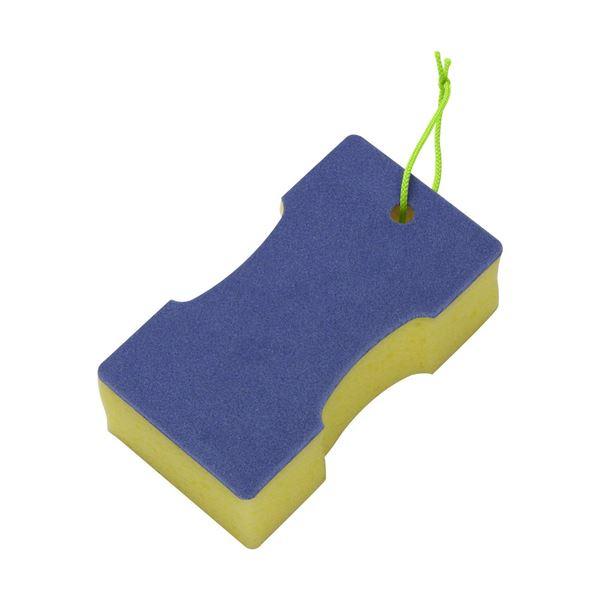 【送料無料】(まとめ) 激落ちバスクリーナー/バススポンジ 【マイクロベロア】 吊り下げ紐つき 風呂掃除 【60個セット】